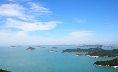 The view of the archipelago seen from the Dorisan Observatory at Jodo Island