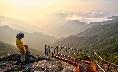 Wonderful morning in Gaya Mountain
